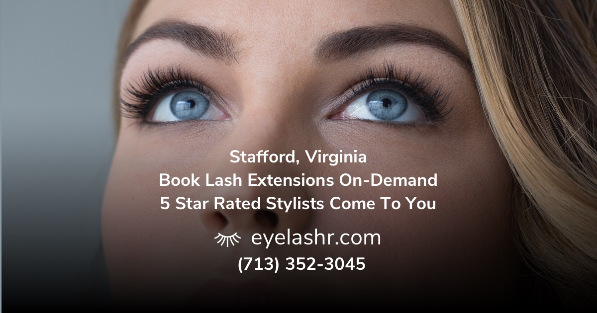Get Your In Home Luxury Eyelash Extensions Today Book Houstons