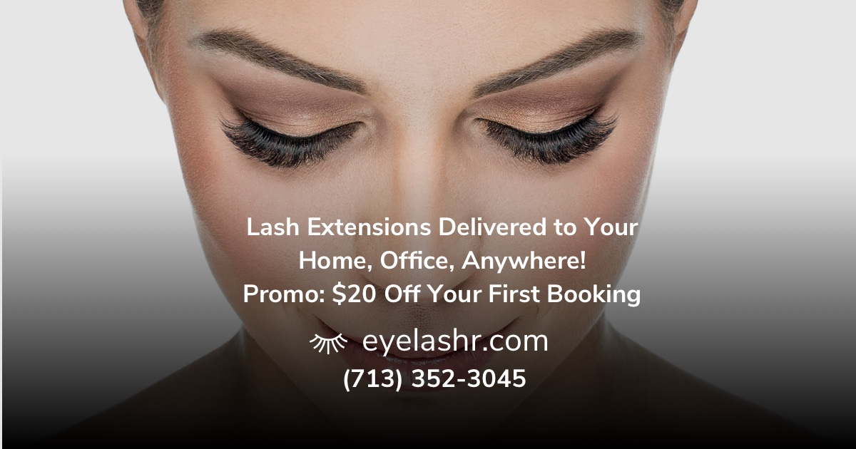 Get Your In Home Luxury Eyelash Extensions Today Book The Best Mobile Lash Extension Technicians Now