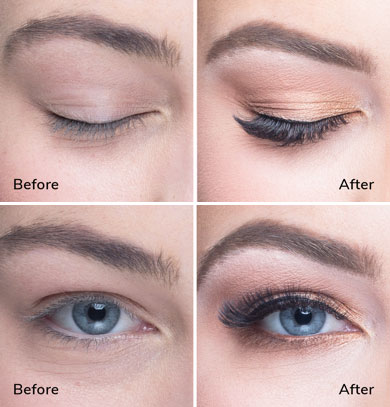 GET YOUR IN HOME LUXURY EYELASH EXTENSIONS TODAY, BOOK THE ...